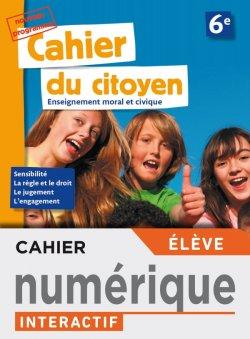Version numérique élève Cahier du citoyen 6e - éd. 2019