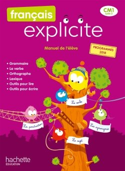 Français Explicite CM1 - Manuel numérique simple élève - Ed. 2020