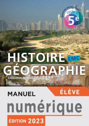 Manuel Numerique Histoire Geographie Emc Cycle 4 5e Licence Enrichie Eleve Ed 2016 Hachette Education Enseignants