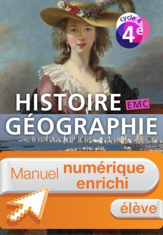 Manuel Numerique Histoire Geographie Emc Cycle 4 4e Licence Eleve Enrichie Ed 2016 Hachette Education Enseignants