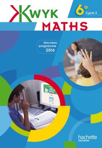 Kwyk Maths 6e Livre Eleve Edition 2016 Hachette Education Enseignants