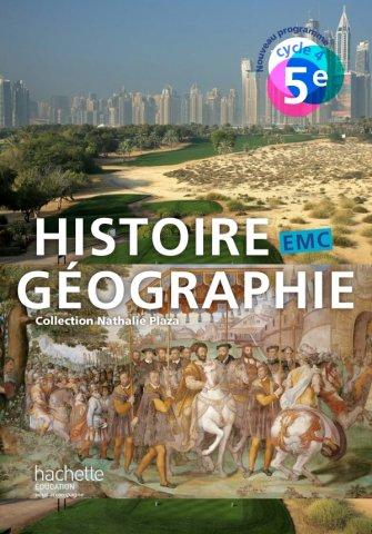 Histoire Geographie Emc Cycle 4 5e Livre Eleve Ed 2016 Hachette Education Enseignants