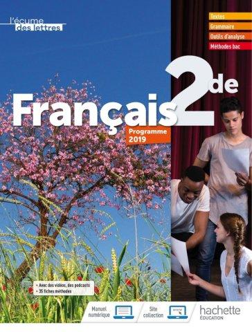 L Ecume Des Lettres 2nde Livre Eleve Ed 2019 Hachette Education Enseignants