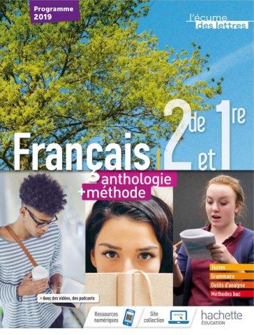 L Ecume Des Lettres 2nde 1ere Anthologie Methodes Livre Eleve Ed 2019 Hachette Education Enseignants