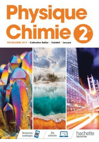 Physique Chimie 2nde Livre Eleve Ed 2019 Hachette Education Enseignants