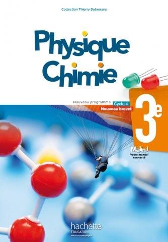 Physique Chimie Cycle 4 3e Livre Eleve Ed 2017 Hachette Education Enseignants