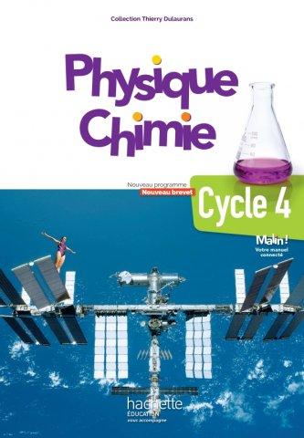 Physique Chimie Cycle 4 5e 4e 3e Livre Eleve Ed 2017 Hachette Education Enseignants