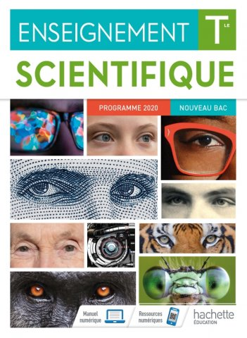 Couverture enseignement scientifique terminale